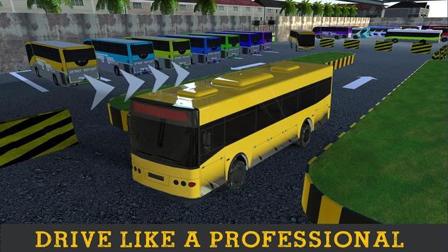 Bus Parking Driver Simulator apk screenshot