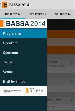 BASSA 2014 poster