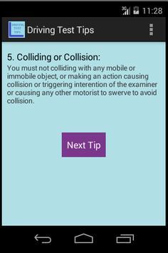 Driving License Road Test Tips screenshot 1
