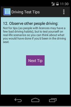 Driving License Road Test Tips screenshot 3