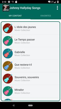 Johnny Hallyday Songs screenshot 4