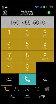 3Connect SoftPhone apk screenshot