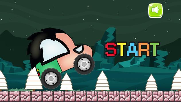 Racing Super Car Titan Robin Go Adventure poster