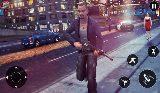Gangster Mafia Vegas city poster