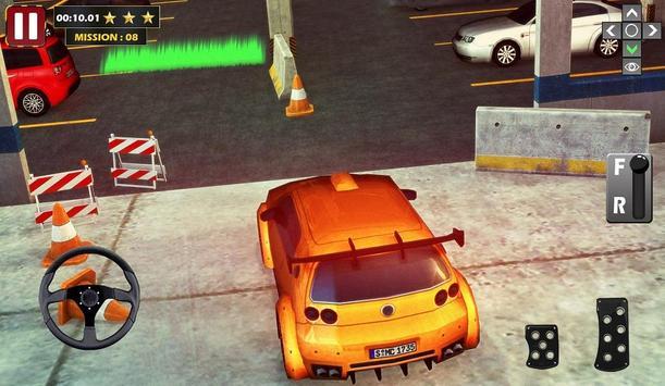 Real Car Parking 3D Game poster
