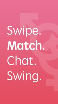 Threesome Dating: Meet Bisexual Couples & Swingers poster
