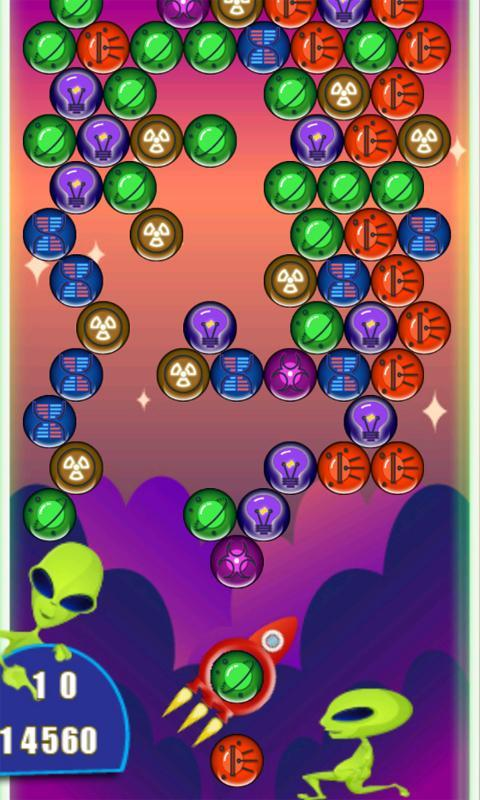 Space bubble shooter apk download free casual game for android.
