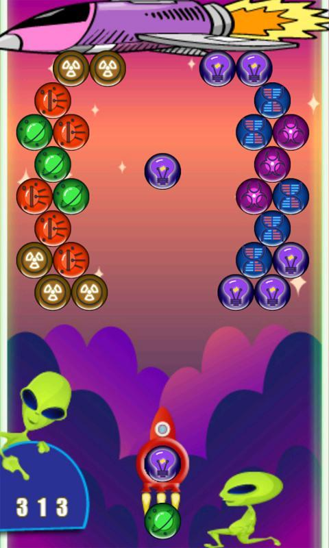 Space bubble shooter apk download free arcade game for android.