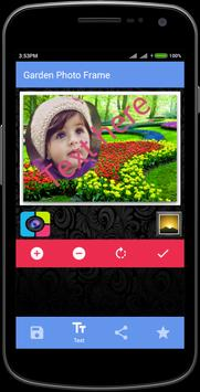 Garden Photo Frame apk screenshot