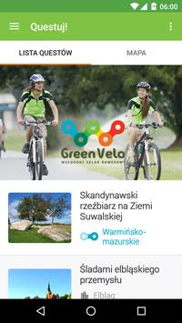 Green Velo Questy poster