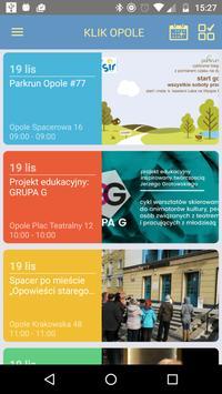 Klik Opole poster