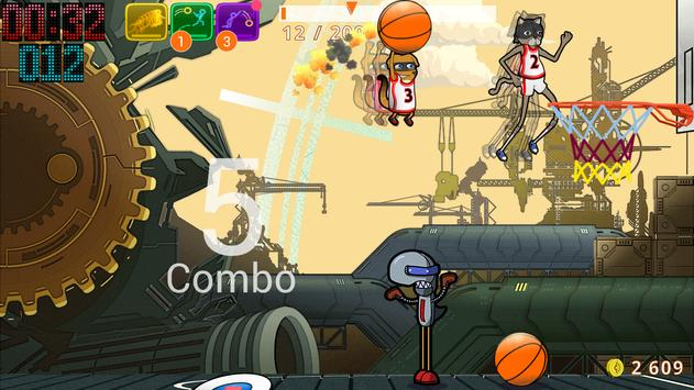 Basketball SuperDunk! скриншот 14