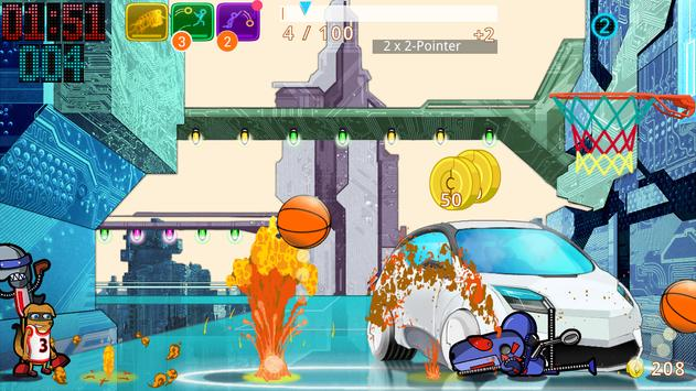 Basketball SuperDunk! screenshot 13
