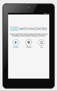GRE Matching Word screenshot 6