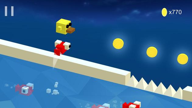 Cube Duck Run apk screenshot