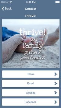 thrive! screenshot 2