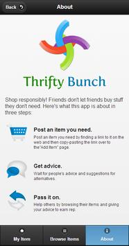 Thrifty Bunch apk screenshot