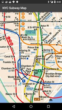 Map of NYC Subway: offline MTA apk screenshot