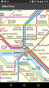 Metro Map: Paris (Offline) apk screenshot