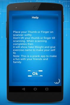 Weight Scanning Prank apk screenshot