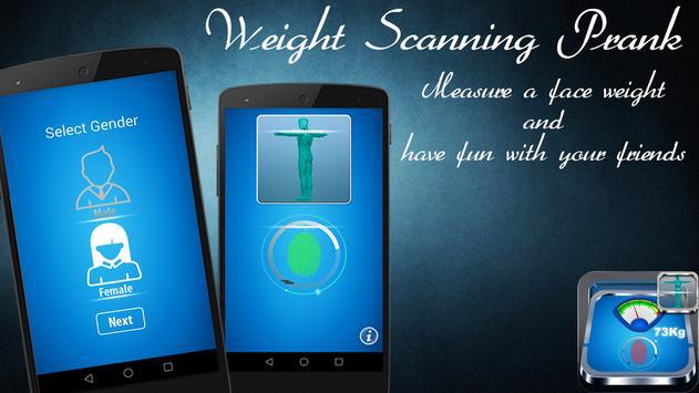 Weight Scanning Prank screenshot 1