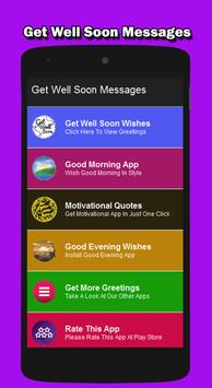 Get Well Soon Messages 2016 poster