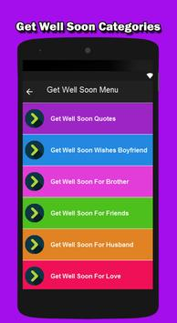 Get Well Soon Messages 2018 apk screenshot