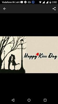 Happy Kiss Day apk screenshot