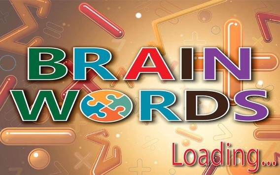 Brain Words Game poster