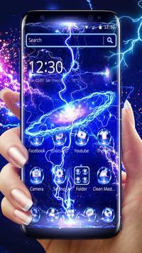 Thunder Screen Laser Theme poster