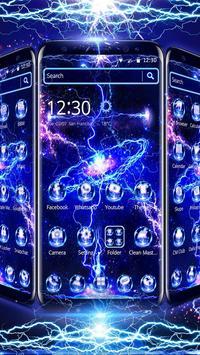 Thunder Screen Laser Theme screenshot 1