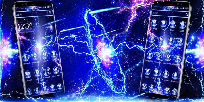 Thunder Screen Laser Theme screenshot 3