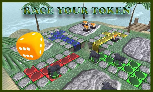 Ludo Jumanji Game Board 3D screenshot 2