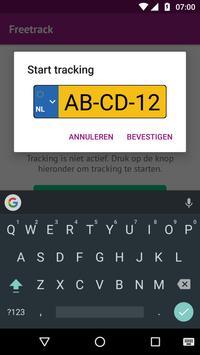 Freetrack apk screenshot