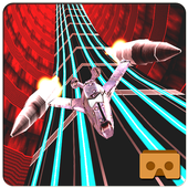3D Jet Fly High VR Racing Game icon