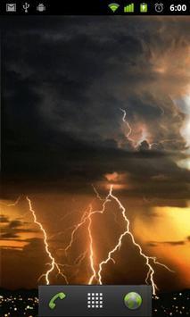 thunderstorm live wallpaper apk screenshot