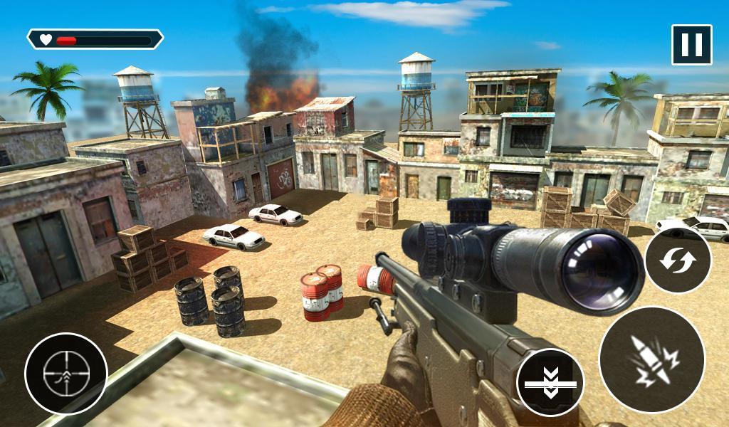 Sniper Combat Attack Gun War: Best Shooting Games for Android - APK Download