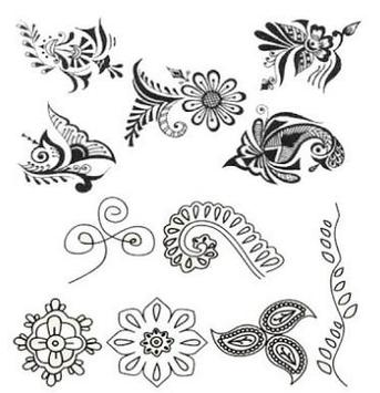 Mehndi henna ideas design tutorial screenshot 4