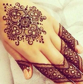 Mehndi henna ideas design tutorial poster