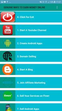 Earn Money Online at Home screenshot 1