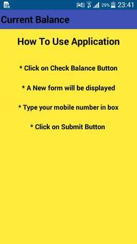 Current Balance screenshot 2