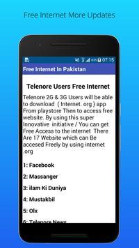 Free Internet screenshot 1