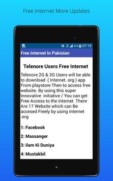 Free Internet screenshot 3