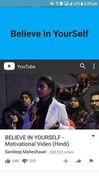 Believe in Your Self by Sandeep Maheshwari screenshot 1