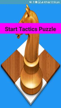 Chess Tactics Puzzles poster