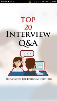 Top 20 Interview Q&A (Offline) poster