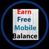 Earn Free Mobile Balance icon