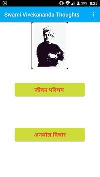 Swami Vivekananda Thoughts poster