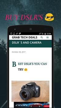 GRAB TECH DEALS screenshot 2