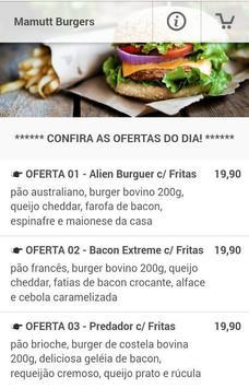 Mamutt Burgers poster